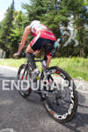 Jackie Aredt on bike at the 2011 Ford Ironman Lake…