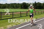Tine Deckers on run at the 2011 Ford Ironman Lake…