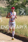 Joe Gambles on run at the 2011 Ironman Boulder 70.3…