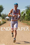 Fraser Cartnell on run at the 2011 Ironman Boulder 70.3…