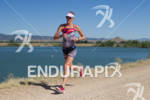 Kelly Williamson on run at the 2011 Ironman Boulder 70.3…