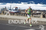 Jammaer Bert,  on the run portion of the Ironman 70.3…