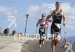 Bella Bayliss,  on the run portion of the Ironman 70.3…