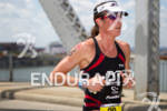 Donna Phelan (CAN) on run at the 2011 Ford Ironman…