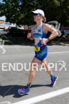 Terra Castro (USA) on run at the 2011 Ford Ironman…