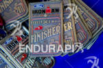 Finisher medals at the 2011 Ford Ironman Louisville