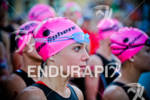 Magali Tisseyre (CAN) focuses before starting swim at the Ironman…