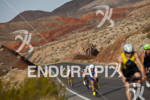 Scenic backdrops during on bike course during Ironman World Championship…