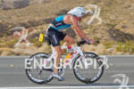 Luke Bell (AUS) on bike competing in the Ironman World…