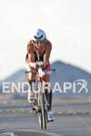 Melissa Rollison (AUS) on the bike at the Marines Ironman…
