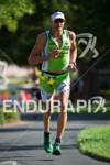Michael Weiss (AUT) on the run at the Marines Ironman…