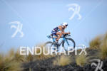 Mirinda Carfrae competing in the bike portion of the 2011…