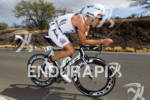 Eneko Llanos (ESP) on bike at the 2011 Ford Ironman…