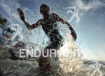 Virginia Berasategui exits the water at the 2011 Ford Ironman…