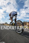 Andreas Raelert riding down from Hawi in the bike portion…