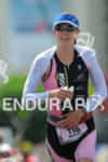 Heather Wurtele at Hot Corner running up Palani Road after…