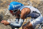 Andreas Raelert of Germany on the bike at the 2011…