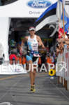 Leanda Cave of Great Britain approaching the finish at the…