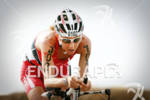 Chrissie Wellington competing in the bike portion of the 2011…
