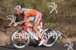 Flo Kriegl (AU) on bike at the 2011 Ford Ironman…