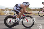 Jeremy Jurkiewicz (FRA) on bike at the 2011 Ford Ironman…