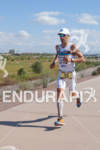Eneko Llanos (SPA) on run at the 2011 Ford Ironman…