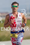 Tim O'Donnell on run at the 2011 Ford Ironman Arizona