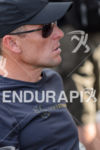 Lance Armstrong during pro panel at the 2012 Ironman 70.3…