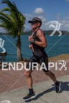 Lance Armstrong running  at the 2012 Ironman 70.3 Panama in…