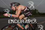 Andy Potts on bike at the  Ironman 70.3 California on…