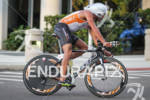 Terenzo Bozzone on bike at the St. Anthony's Triathlon on…