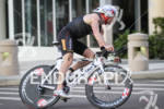 Ben Collins on bike at the St. Anthony's Triathlon on…