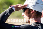 Pro Triathlete prepare for the swim start at the Avia…