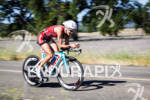 Linsey Corbin on the bike at the Avia Wildflower Triathlon…