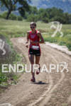 Lindsey Corbin on the run at the Avia Wildflower Triathlon…