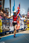 Linsey Corbin finishes second at the Avia Wildflower Triathlon on…