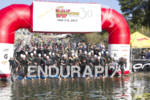 The pro men start the 30th Anniversary Wildflower Triathlon May…