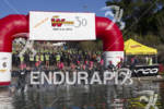 The pro women start the 30th anniversary Wildflower Triathlon May…