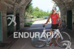 Sarah Piampiano stands with her Cervelo bike. 2012