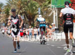 Diepart Xavier on the run  portion of the 2012 Ironman…