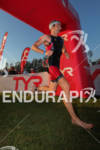 Brandon Marsh exits water at the Ironman Texas on May…
