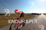 Jordan Rapp on bike at the Ironman Texas on May…