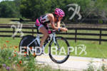 Cait Snow on bike at the Ironman Texas on May…