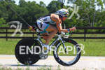 Charisa Wernick on bike at the Ironman Texas on May…