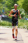 Jordan Rapp on run at the Ironman Texas on May…