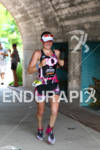 Cait Snow on run at the Ironman Texas on May…