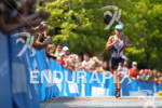 Mary Beth Ellis runs down finish line at the Ironman…