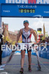 Mary Beth Ellis hold finish tape after winning at the…