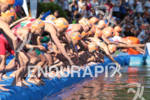 Start of the women race at the  2012 ITU World…