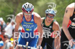 Tony MOULAI (FRA) on the bike at the 2012 ITU…